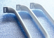 Refrigerator handles manufactured using GIM
